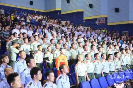 抚松县举行建军90周年文艺演出